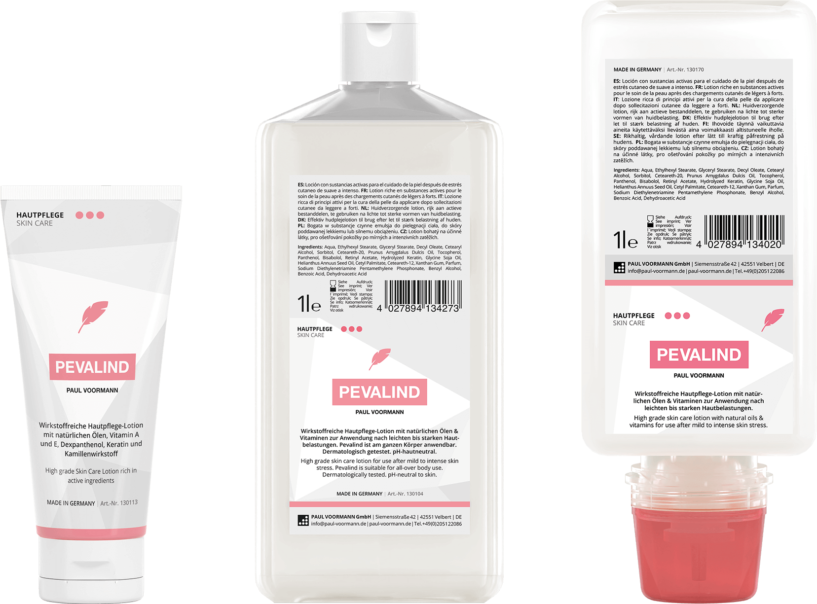 Hautpflege - Pevalind Produktbild