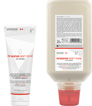 Skin cleansing: Pevastar Soft Pure